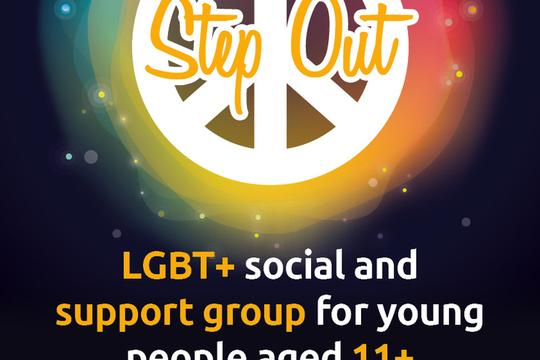 NEW Step Out LGBT poster Hi Res Nov 11